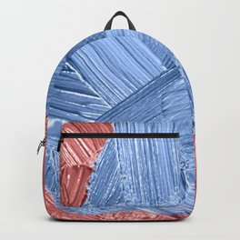 47   | Abstract Expressionism| 210210| Digital Abstract Art Textured Oil Painting Backpack