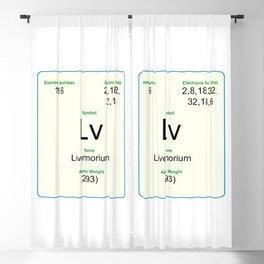 116 Livermorium Blackout Curtain