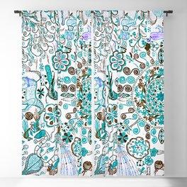 Mandala - Boho Pastel Vintage Embroidery Blackout Curtain