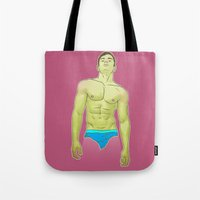 lucas david Tote Bags featuring Lucas by artedgar