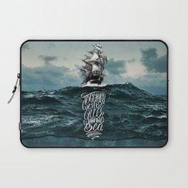 One With The Sea Laptop Sleeve