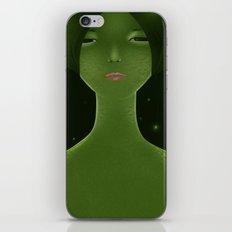 Woman_snake iPhone Skin