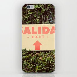 Salida iPhone Skin