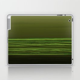 Horizon (olive green) Laptop & iPad Skin