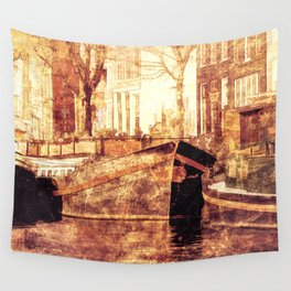Old Amsterdam Wall Tapestry
