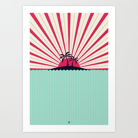 Summer of '16 Art Print