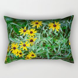 Growing Wild Rectangular Pillow
