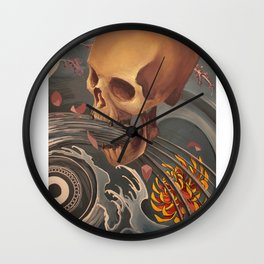 No title. Wall Clock