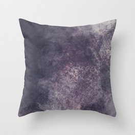Melancholic Rain Throw Pillow