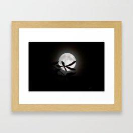 Buckeye Moon Framed Art Print