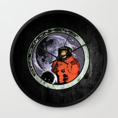Space Monkeys Wall Clock