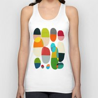 pills Tank Tops featuring Jagged little pills by Picomodi