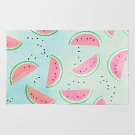 Spilled Watermelon Pattern Rug