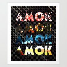 Atoms for Peace: AMOK Art Print