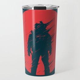 Red Sphere Travel Mug