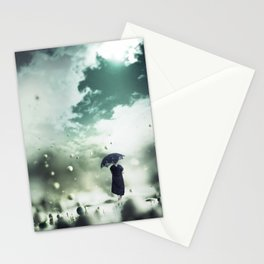 Walking On The Moon Stationery Cards