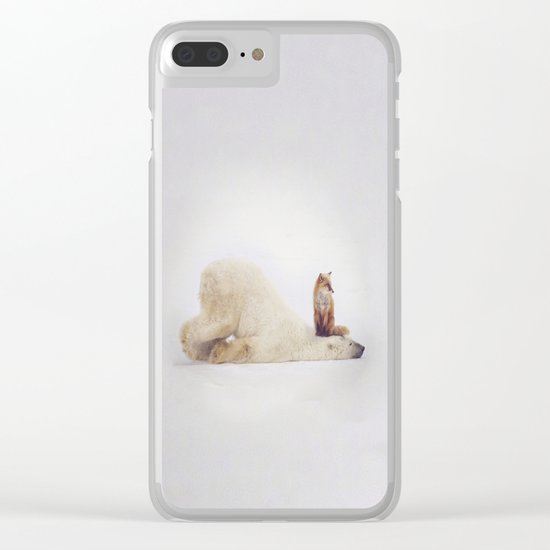 Foxy takedown Clear iPhone Case
