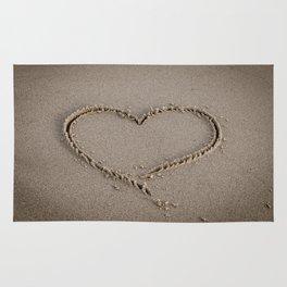 Heart Love Sand Rug