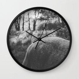 Horse VII _ Photography Wall Clock
