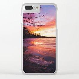 Intense Palette Clear iPhone Case