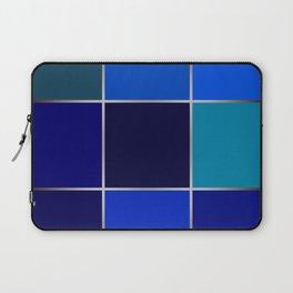 Cobalt , patchwork Laptop Sleeve