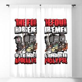 The Four Horsemen Of The Modern Apocalypse Blackout Curtain