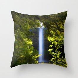 South Falls Throw Pillow