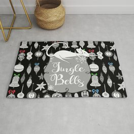 Jingle Bells - Christmas Cats Rug