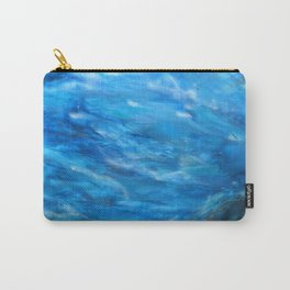 O' deep blue sea water painting Carry-All Pouch