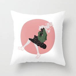 Spacing Out Throw Pillow