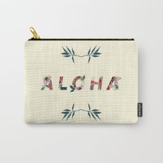 Aloha in Flowers Carry-All Pouch