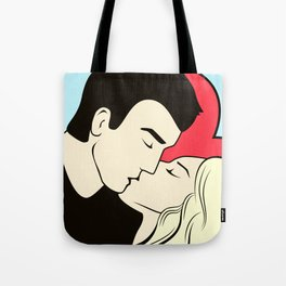 Never Just A Kiss // Sweet Naughty Valentine Tote Bag