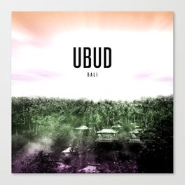 Ubud Wallpaper Canvas Print