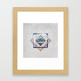 Refreshing heat Framed Art Print