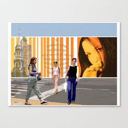 SHE Canvas Print
