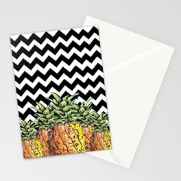 abacaxi chevron Stationery Cards