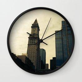 Boston Clocktower Wall Clock