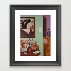 just what is it that makes today's homes so different, so appealing? Framed Art Print