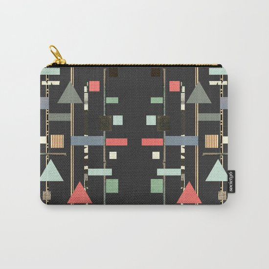 Abstract Aztec No. 1 Carry-All Pouch
