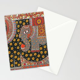 Pregnant Elephant Stationery Cards