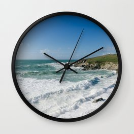 Little Fistral, Newquay, Cornwall Wall Clock