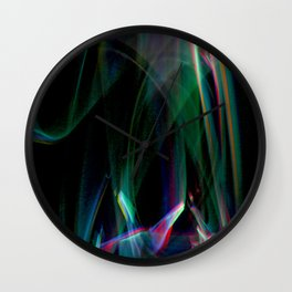 Cover Up with Lights Wall Clock