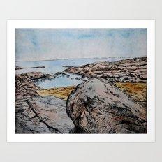 Take Me Down To The Water  Art Print