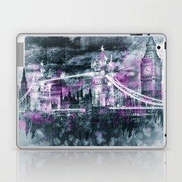 Modern-Art LONDON Tower Bridge & Big Ben Composing Laptop & iPad Skin