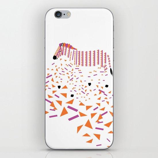 Geometric Zebra iPhone & iPod Skin