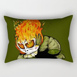 Little keeper of the fire Rectangular Pillow