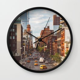 Highline View Wall Clock