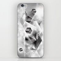 sacred geometry iPhone & iPod Skins featuring Sacred Geometry Four by Richard Seyb