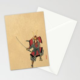 Honorable Warrior Stationery Cards