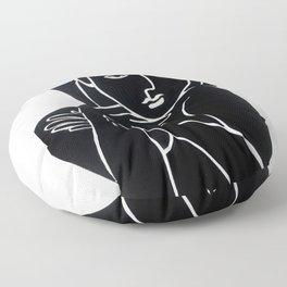 Vanity Girl -  POP ART PAINTING GIANT PRINTS Nude Floor Pillow